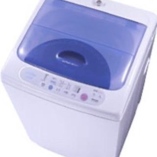 【TOSHIBA】からりと脱水 洗濯機 容量4.2kg