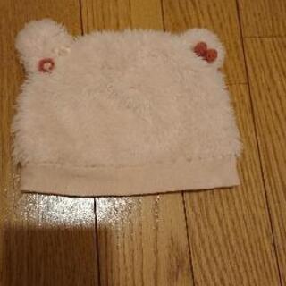 スーリー クマ耳帽子(ピンク)