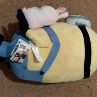 【値下げ】怪盗グルーのミニオン大脱走 メガジャンボブタさんといっしょぬいぐるみ - 新潟市