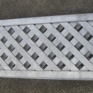 ラチス格子タイプフェンス 3組セット