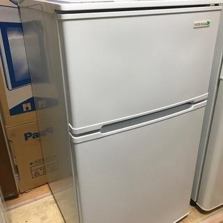 【高年式!】冷蔵庫 2ドア ヤマダオリジナル 90L 2018年...