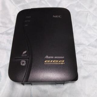 NEC  Aterm  WG300HP  Wifiルーター