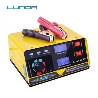 400AH フル自動車バッテリー充電器インテリジェントパルス修理...