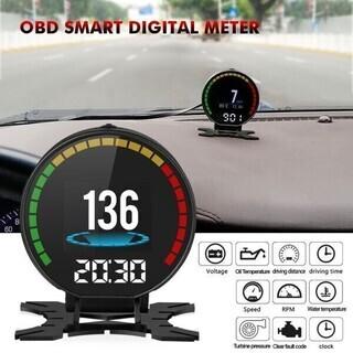 デジタルスピードカーモニターヘッドアップディスプレイ OBD2 ...