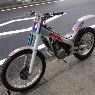 ホンダRTL250 トライアルバイク エンジン快調 中古キズ有り