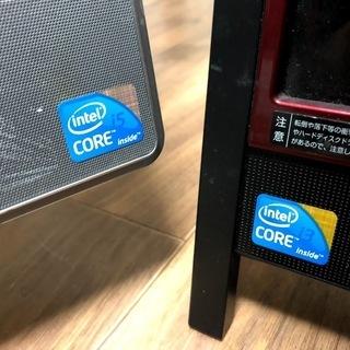 【ジャンク】Core i5・i3機2台セット本体のみ!ブルーレイ搭載