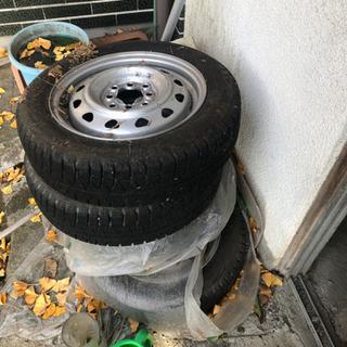 タイヤ付きホイール 4本 スタットレス 14インチ 4穴