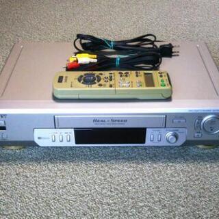 ビデオデッキVHS「SONY SLV-R150 Hi-Fi SQPB」