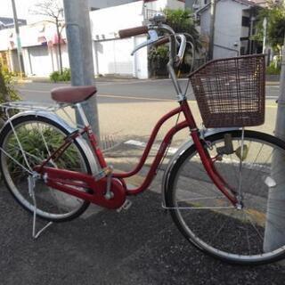 中古自転車801 26インチ ギヤなし ダイナモライト