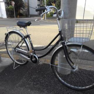 中古自転車802 26インチ ギヤなし オートライト