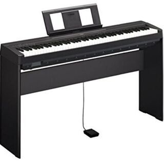 YAMAHA電子ピアノP-45B(88鍵盤)★イヤホン使用可能な...