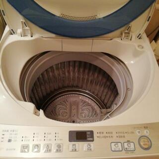 洗濯機7㎏ SHARP  美品
