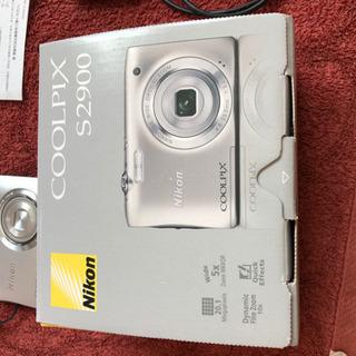 Nikon COOLPIX S2900 シルバーSDカード16GB付き