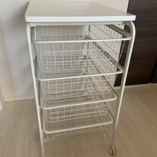IKEA ARGOT アルゴート 引き出し 収納 キャスター付き