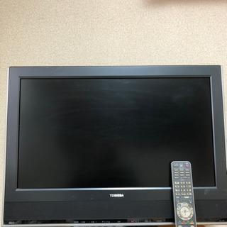 液晶テレビ 26サイズ 東芝 リモコン付き