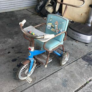 当時物 三輪車 レトロ
