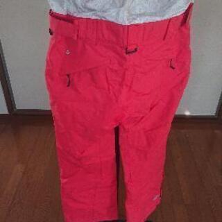 スノボ用 パンツ 赤色