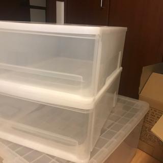 ニトリ  収納ケースSサイズ 二個