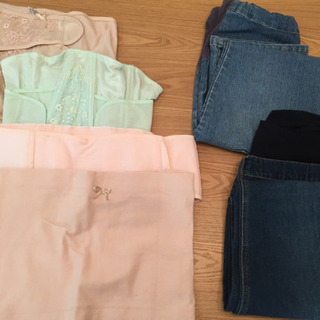 【マタニティ】ベルト類とズボンのセット