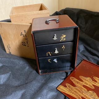 木箱入り和装小物入れ - 京都市