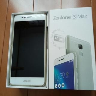 zenfone3max ZC520TL-SL16 (シルバー)