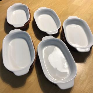 グラタン皿 5個セット ニトリ
