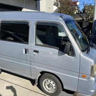 宮古島 H14 サンバーバン 5MT 2WD TV1 車検付き ...