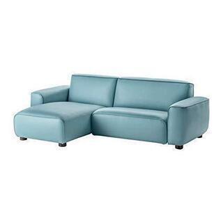 IKEA DAGARN 3人掛けソファ 寝椅子付き, キムスタ-...