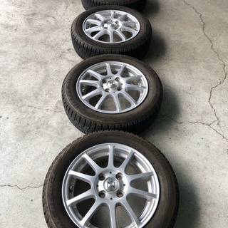 155/65R14       冬タイヤアルミセット