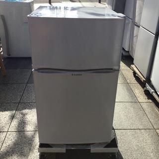 #3251 エスキュービズム 冷蔵庫 90L WR-2090WH...