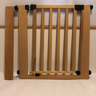 日本育児 【中古】木製スタイリッシュゲイト ベビーゲイト