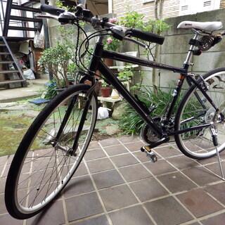 信頼のミヤタ クロスバイク トライクロス 色ブルーブラック 美麗...