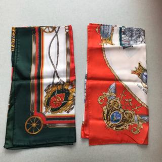 スカーフ 2枚セット