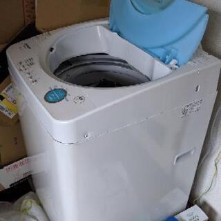 洗濯機一人用 12月の最後の週に神奈川県川崎市高津区まで取りに来...