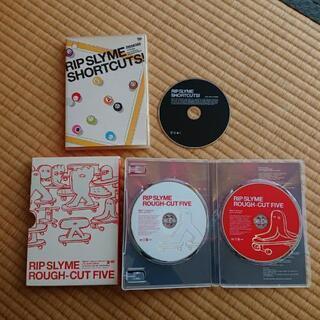 RIP SLYME のミュージックDVD 2枚セットで販売します。
