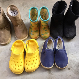 靴 5足セット サイズ14〜15