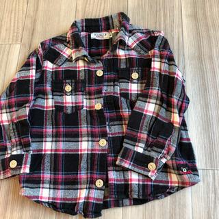 ミキハウス ネルシャツ サイズ90