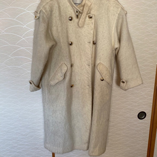 美品ロングコート