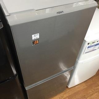 1年保証 AQUA 2ドア冷蔵庫
