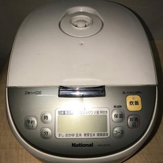 【105】National・IHジャー炊飯器・一升炊き