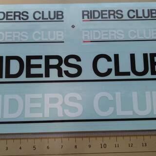 ステッカー ライダーズクラブ大小セット