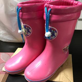 【中古】プリキュア 長靴 17.0cm