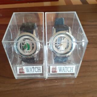 進撃の巨人の時計ケ-ス付き