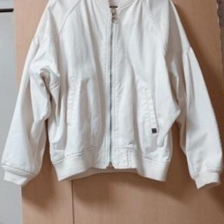 デニムジャケット(白)