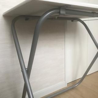 ニトリ おりたたみテーブル 折り畳みテーブル デスク - 堺市