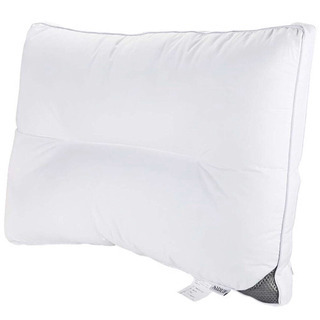 安眠枕 丸洗い可能 高級ホテル仕様 43x63cm (ホワイト)