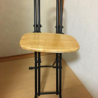 こっそり値下げ★折り畳み椅子 座面高さ調節可