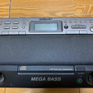 SONY CDラジオカセットコーダー コード無し(乾電池なら使え...