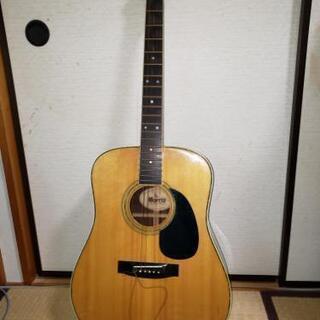 モーリスのフォークギター W-25  (ハードケース付き)