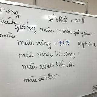 初級ベトナム語講座&ベトナム料理食事会